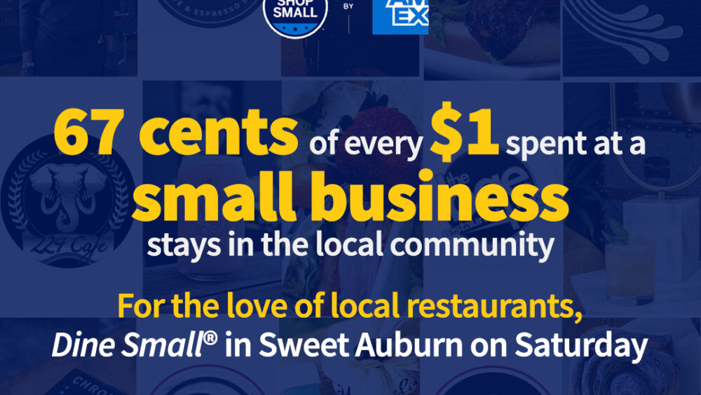Dine Small in Sweet Auburn