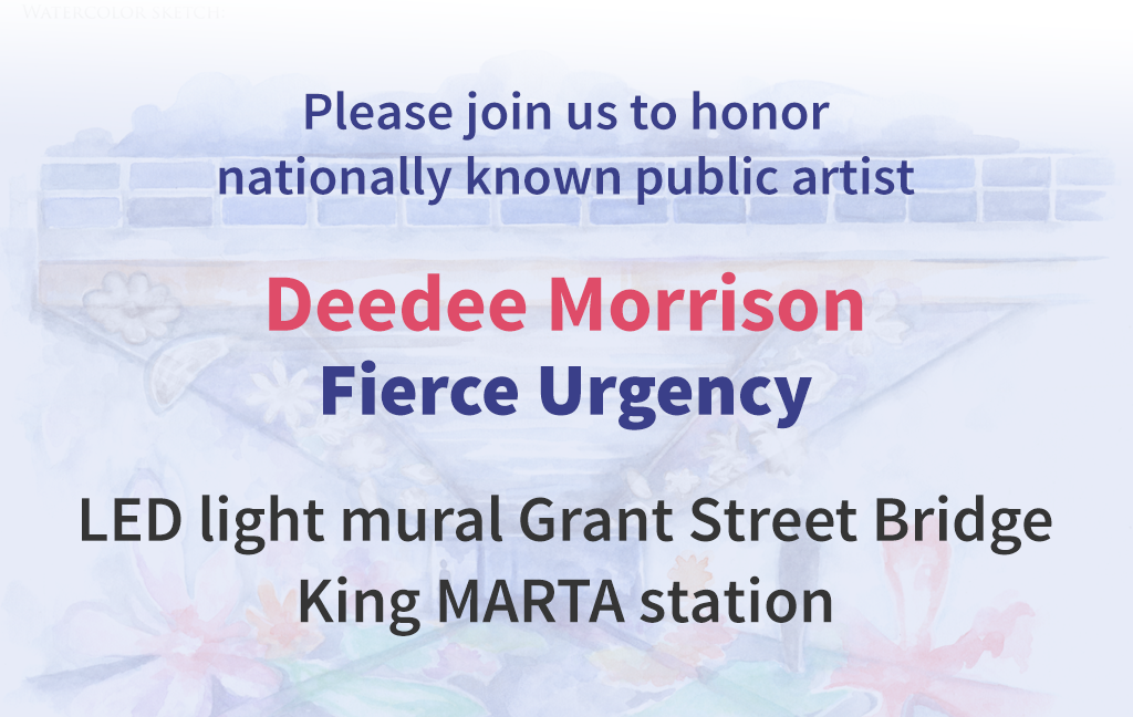 Deedee Morrison unveils LED mural for