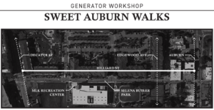 Join Us for the Generator Workshop: Sweet Auburn Walks @ MLK Marta Station