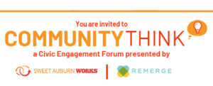CommunityThink a Civic Engagement Series @ REMERGE