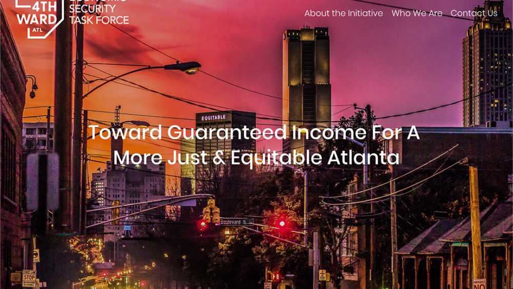 Guaranteed Income Initiative in Old Fourth Ward