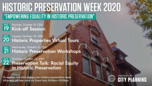 Empowering Equity in Historic Preservation Series