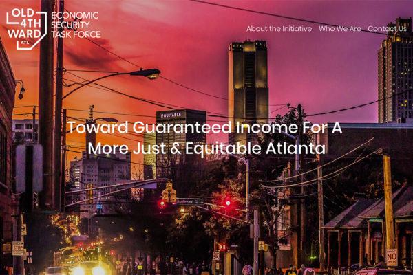 Guaranteed Income Initiative in Old Fourth Ward